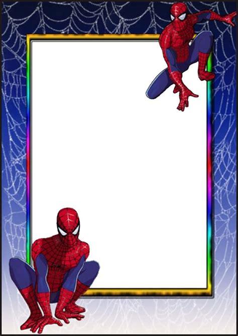 printable spiderman invitation cards spiderman invitation card free printable invitation