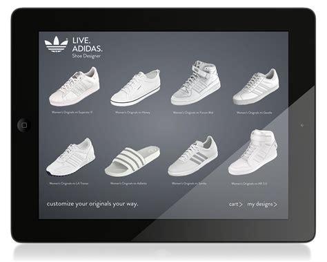 live adidas shoe designer app on behance