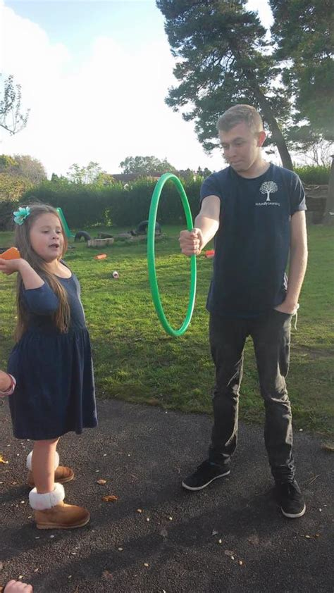 throwing beanbags into hoops 50 outdoor activities for ones naturally learning