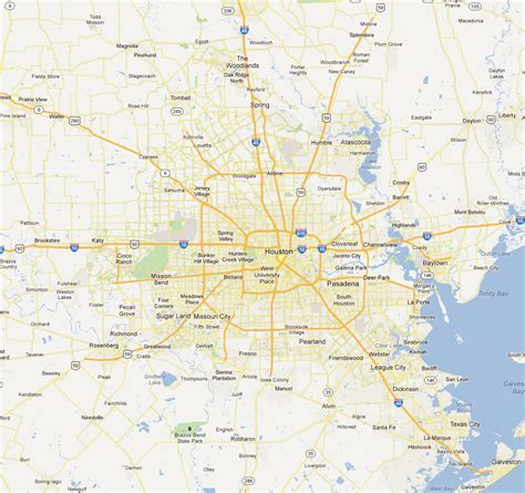 houston map by area map of houston and surrounding area indiana map