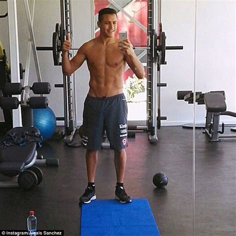 alexis sanchez gym alexis sanchez s desire is impressive but he s tricky to