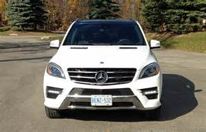 Mercedes 350 Ml 2014 Suv Review 2014 Mercedes Ml 350 Bluetec 4matic Driving