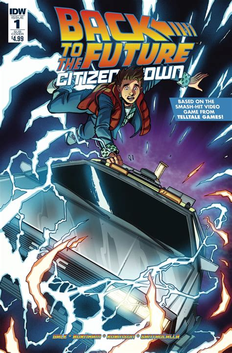 Back To The Future Citizen Brown back to the future citizen brown 1 idw publishing