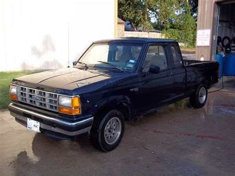 purchase used 1991 ford ranger custom extended xlt cab pickup 2 door 3 0l in keene texas