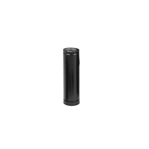 Direct Vent Gas Fireplace Pipe by Selkirk Direct Temp Black Vent Pipe For Direct Venting Of Gas Corn And Pellet Appliances