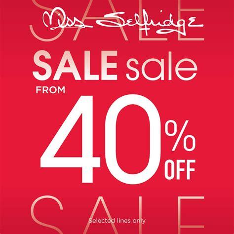Miss Selfridge Sale by Miss Selfridge Ss14 End Of Season Sale 40 เร ม 11