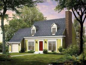 Cape Style Home Plans by Cape Cod House Plans At Eplans Colonial Style Homes