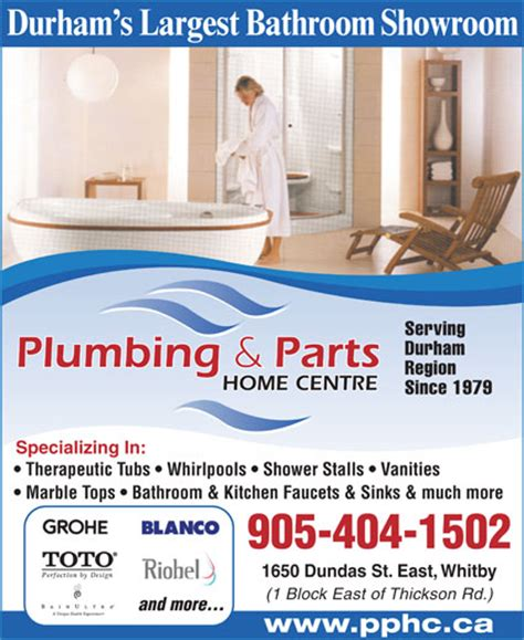 Plumbing Courses In Ontario by Plumbing And Parts Home Centre 1650 Dundas St E Whitby On