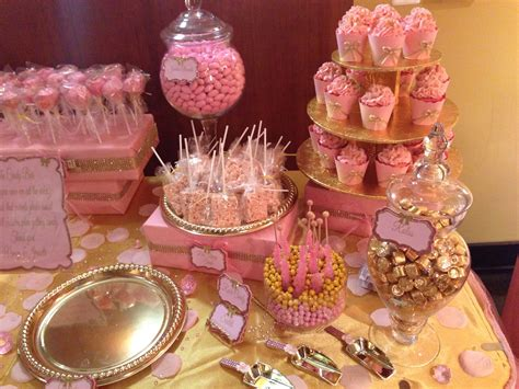 Baby Shower Pink And Gold by Pink And Gold Baby Shower Oh Baby Gold