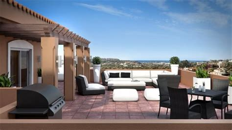 penthouse terrace new developments in spain nordic estates