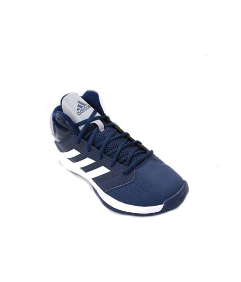 basketball sports shoes adidas blue synthetic leather basketball sports shoes for