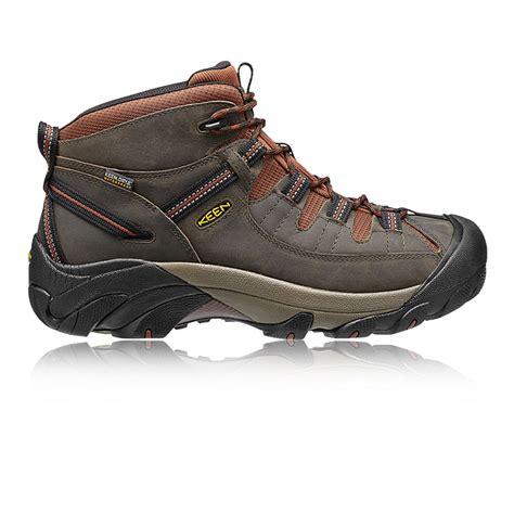 mens brown hiking boots keen targhee ii mid mens brown outdoors walking boots