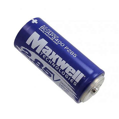 maxwell technologies capacitors bcap3400 p285 k05 maxwell technologies inc capacitors digikey