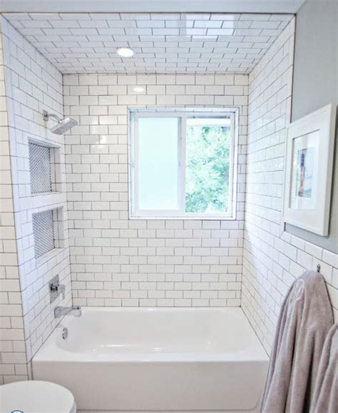 29 White Subway Tile Tub Surround Ideas And Pictures | 29 white subway tile tub surround ideas and pictures