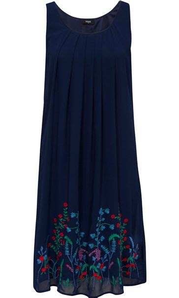 Sleeveless Chiffon Midi Dress floral embroidered chiffon sleeveless midi dress