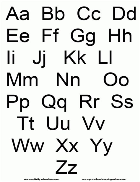 printable letters website alphabet letters to print out free letters exle