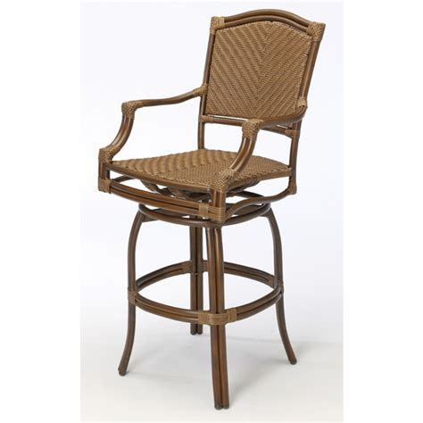 Patio Bar Stools by St Croix Outdoor Patio Bar Stools By Summer Classics
