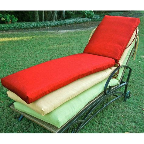 outdoor chaise lounge cushion slipcovers 72 chaise lounge cushion with solid cover dcg stores