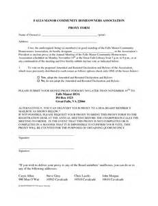 proxy voting form template doc 598771 membership forms templates form template