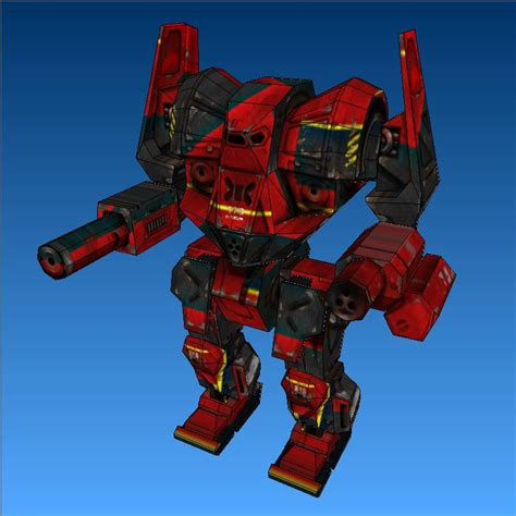Awesome Papercraft - battletech papercraft awesome mech