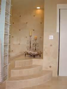 Walk In Shower Insert Custom Walk In Shower Travertine Inserts J