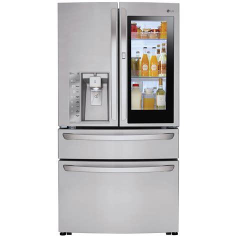 Lg Four Door Refrigerator by Lg Lmxc23796s 4 Door Counter Depth Instaview Door In