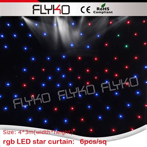 led curtain wall aliexpress com buy 3x4m led glow light curtain wall