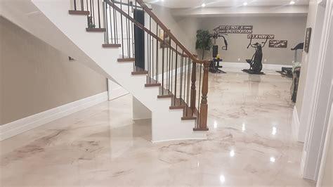 metallic epoxy flooring concrete flooring rs concrete