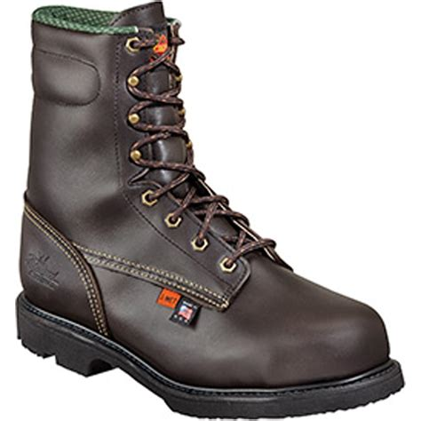 steel toe boots with metatarsal guard thorogood metatarsal guard work boot 8044531