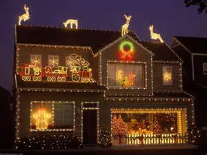 Homes With Christmas Decorations by Unique Outdoor Christmas Lights Modern Magazin
