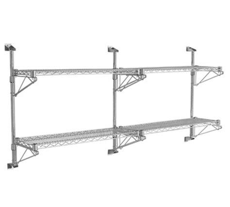 wall mounted chrome wire shelving richardsons shelving