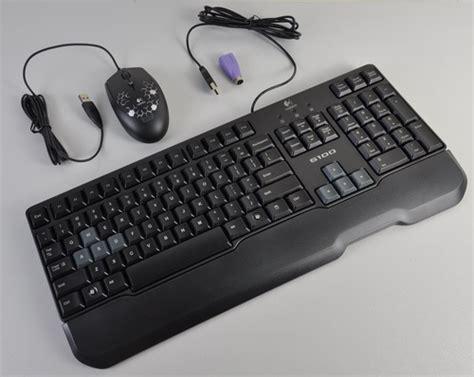 Keyboard Mouse Logitech G100 input devices maximize digital living logitech