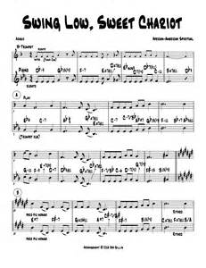 words to swing low 64 swing low sweet chariot lyrics and piano duet benny