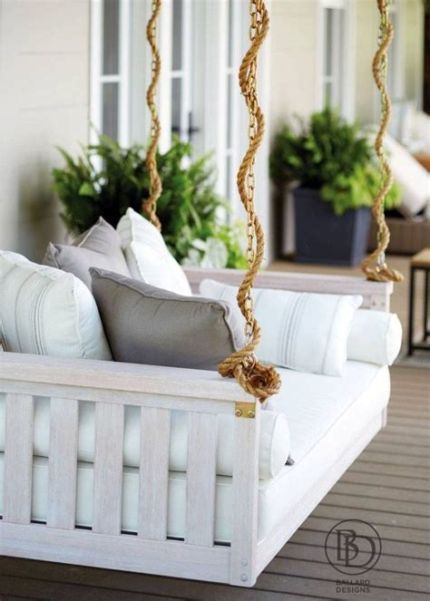 white patio swing 1000 ideas about front porch swings on pinterest porch