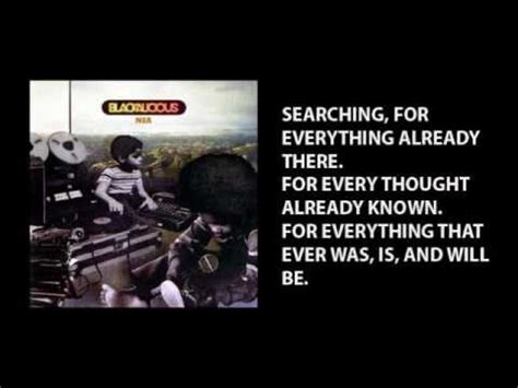 blackalicious finding with lyrics blackalicious searching with lyrics