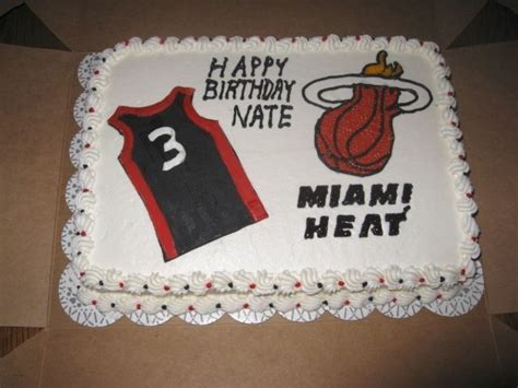 25 best ideas about miami heat cake on miami