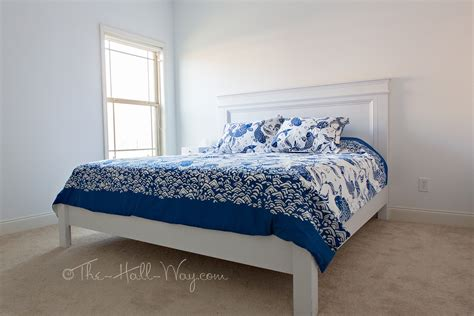king farmhouse bed ana white my mom s king fancy farmhouse bed diy projects