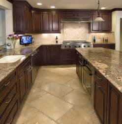 Travertine Kitchen Floor What Is The Size Of The Travertine Flooring