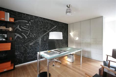 office paint ideas chalkboard paint office wall decoist
