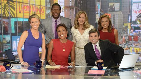 in the morning cast tv ratings morning america wins second quarter