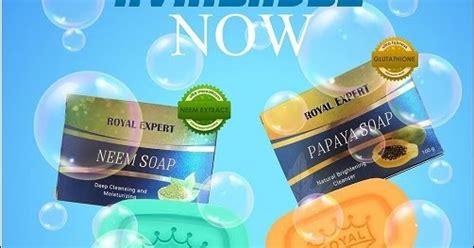 Sabun Royal Expert royal expert neem papaya soap rz tuah ent