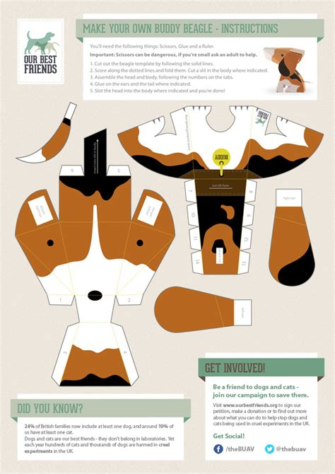 dog papercraft template patterns patterns kid