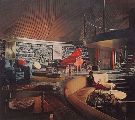 1950s house interior mid century architecture the quot round house quot aurora