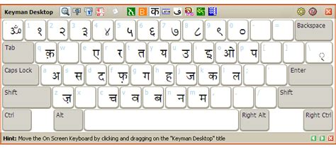 layout of devanagari keyboard keyman support type to the world in your language