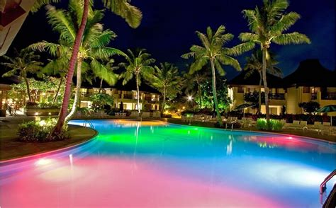 beleuchtung pool pool illuminators led lights vs fiber optic lights
