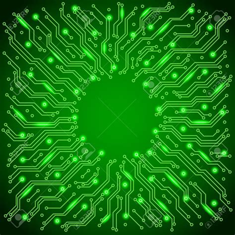 circuit board background protium design circuit board background vector green illuminated