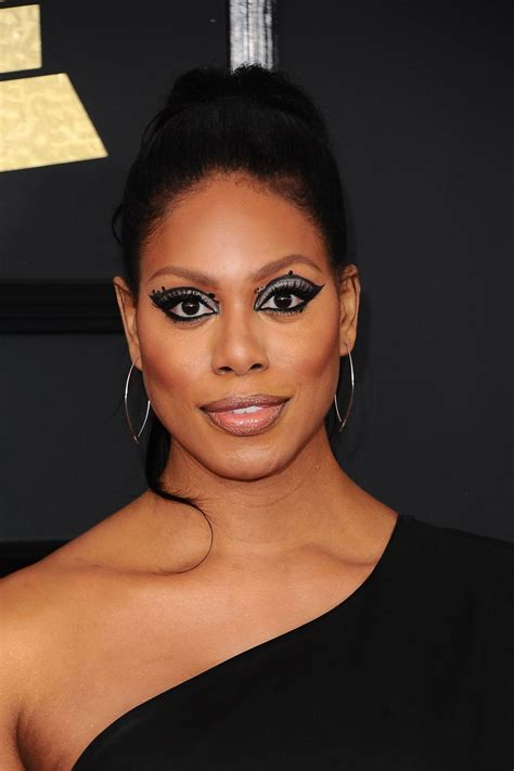 laverne cox laverne cox at 59th annual grammy awards in los angeles 02