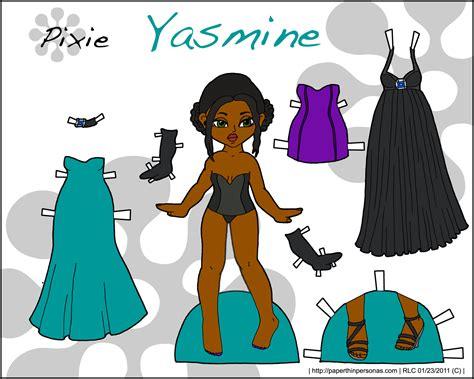 printable jasmine paper doll pixie yasmine paper thin personas paper thin personas