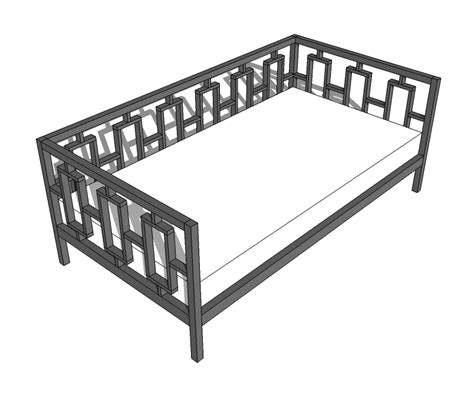 day bed plans download daybed furniture plans plans free