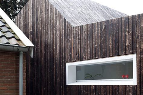 BYTR Architects Burnt the Wood of This Beautiful Extension
